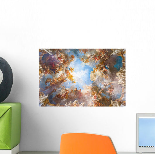 Ceiling Painting Palace Versailles Wall Decal Wallmonkeys Com