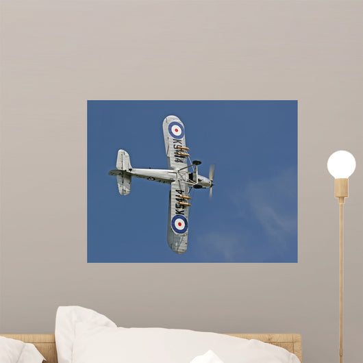 1935 Hawker Hind Roll Wall Decal