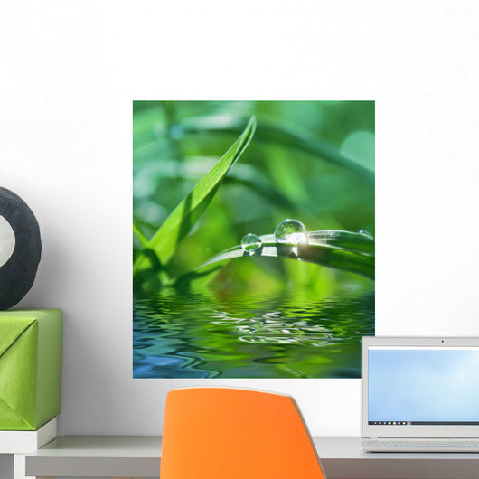Green with Grass Wall Decal