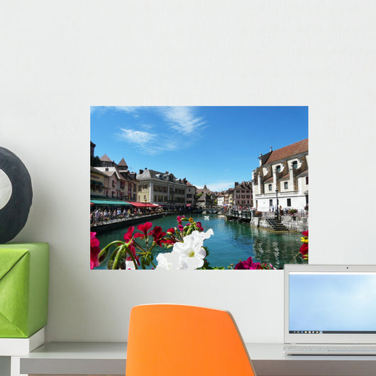 Annecy Old Town Wall Decal