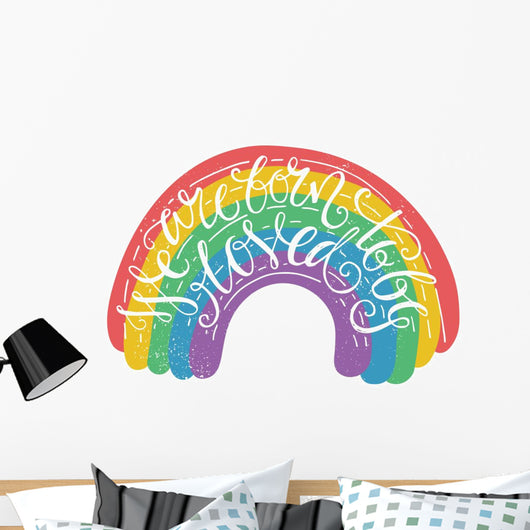Gay Pride Quote Wall Decal