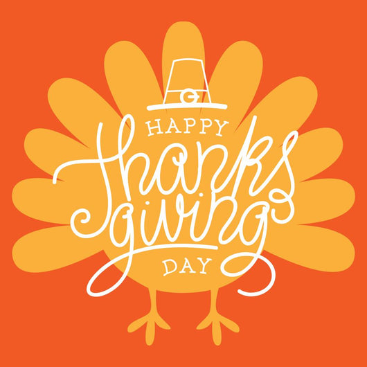 Happy Thanksgiving Day Vector Wall Decal