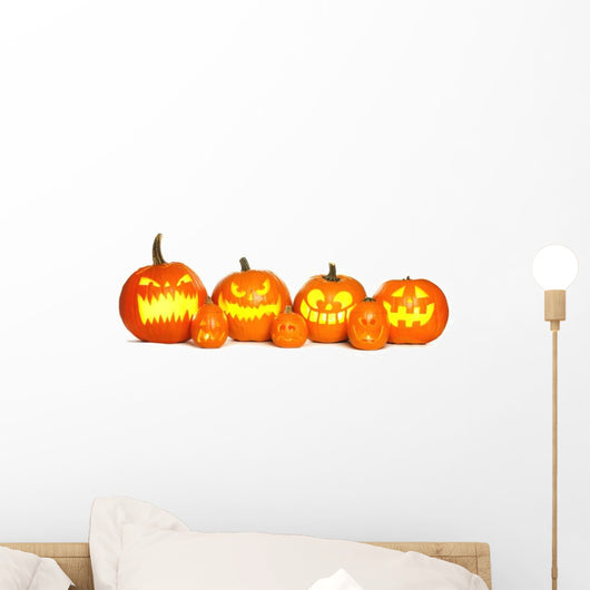 Halloween Jack-o-lantern Pumpkins Wall Decal