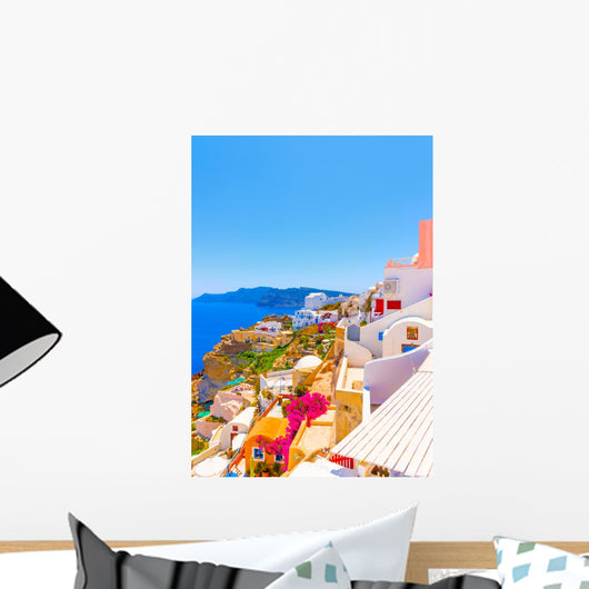To Sea from Oia Wall Decal