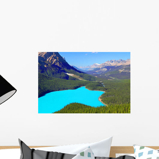 Peyto Lake Banff National Wall Decal