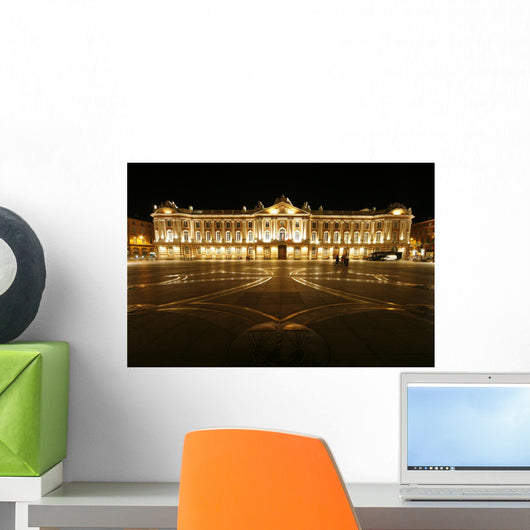 Toulouse Capitol Square Wall Decal