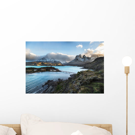 Beautiful Torres Del Paine Wall Decal