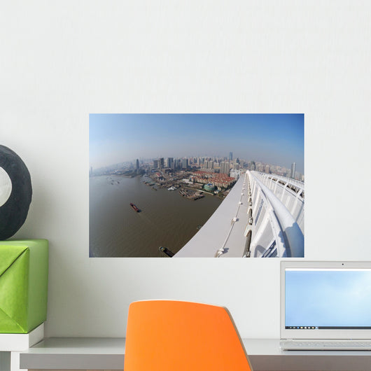 Panorama Shanghai Wall Decal
