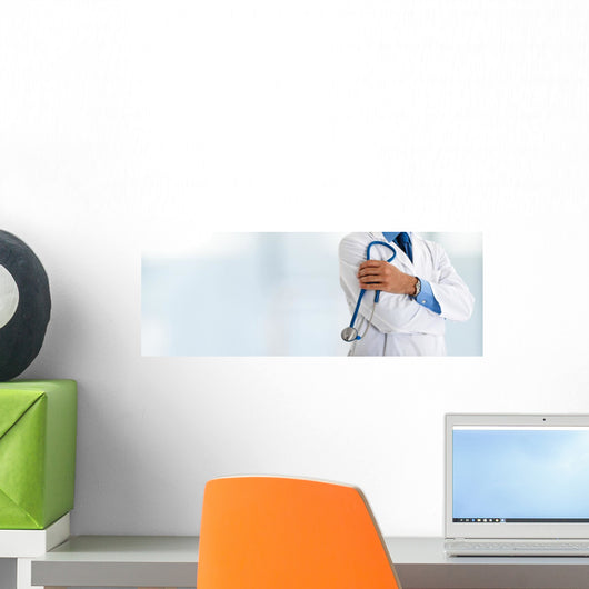 Doctor Front Bright Wall Mural Panoramic