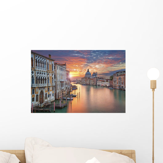 Venice Image Grand Canal Wall Decal