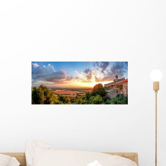 Amazing Basilica St Francis Wall Decal