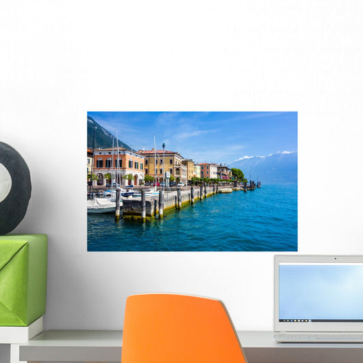 Gargnano Am Gardasee Wall Decal
