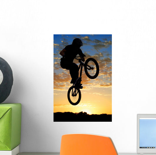 Airborne Bike Wall Decal