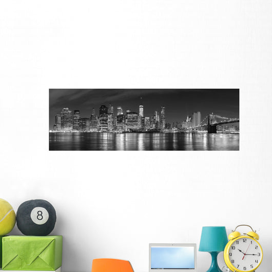 Black and White New Wall Decal