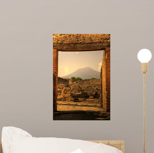 Ruins Pompeii Wall Decal