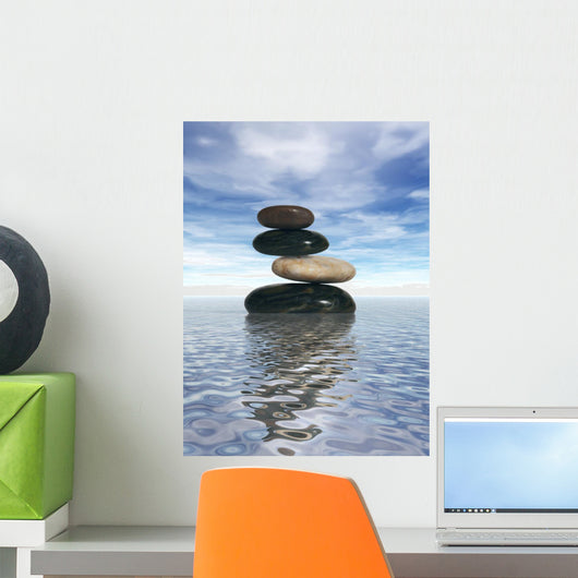 Balanced Rocks Wall Decal