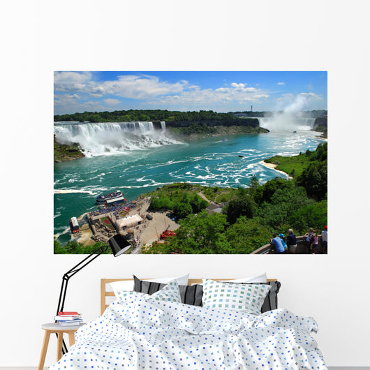 Niagara Falls American and Wall Decal