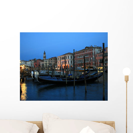 Gondolas Grand Canal Venice Wall Decal