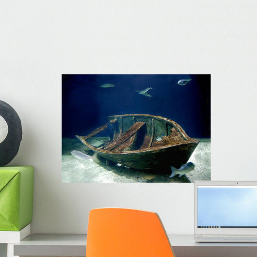 Barca Acquario Wall Decal