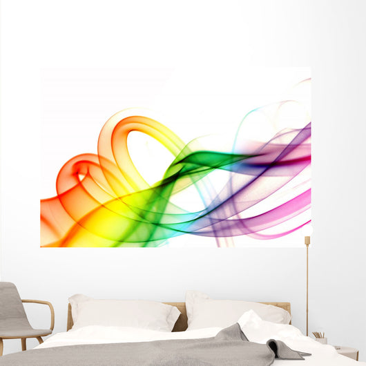 Colored Smoke Series Shot Wall Decal