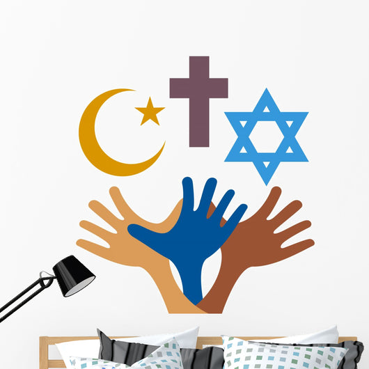 Peace and Dialogue between Wall Decal