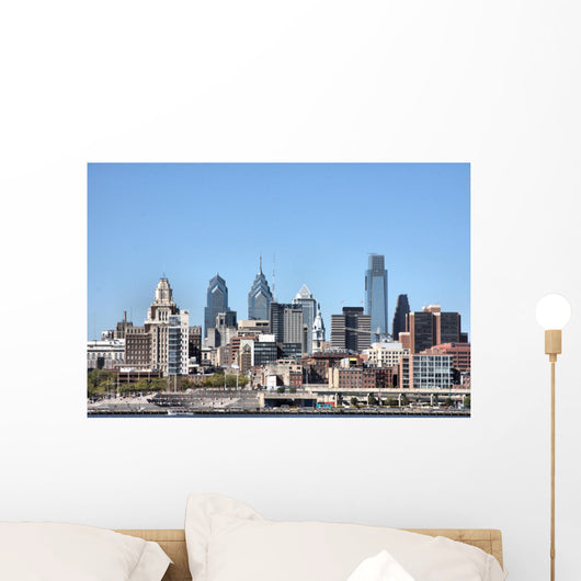 Philadelphia 2008 Skyline Closer Wall Decal