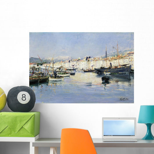Villefranche by Julien Gustave Gagliardini Wall Mural
