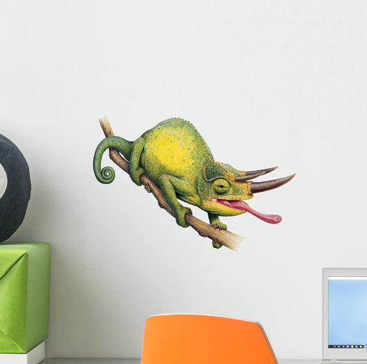 Jacksons Chameleon Reptile Wall Decal