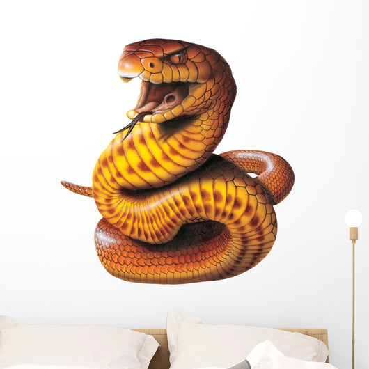 Brown Snake Wall Decal