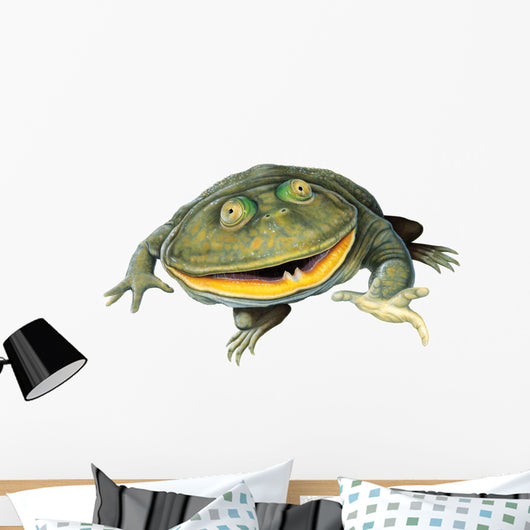 Frog Decals - Budgett's Frog Wall Decal