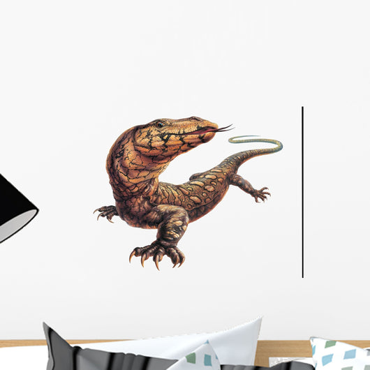 Gigantic Lace Lizard Reptile Wall Decal