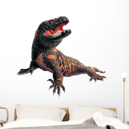 Gila Monster Reptile Wall Decal
