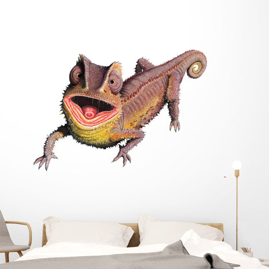 Ground Chameleon Reptile Wall Decal