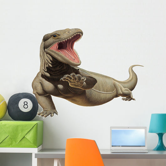 Komodo Dragon Reptile Wall Decal