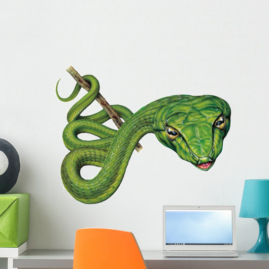 Long-Nosed Snake Wall Decal