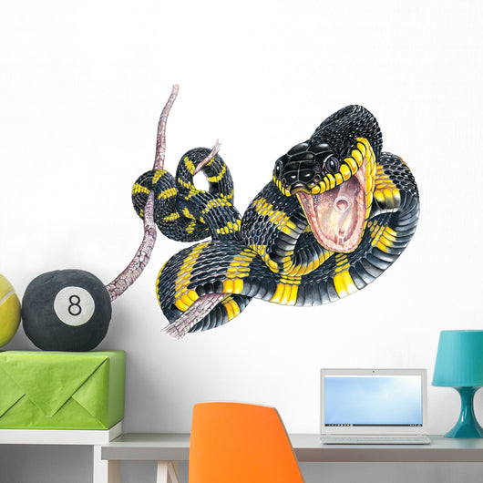 Mangrove Snake Wall Decal