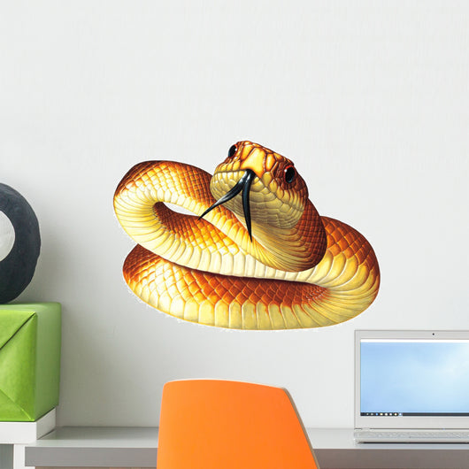Mulga Snake Wall Decal