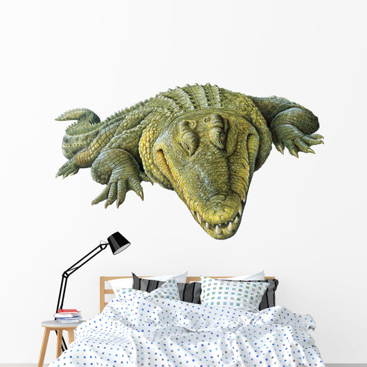 Reptile Decals - Nile Crocodile Wall Decal