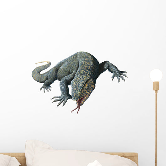 Nile Monitor Lizard Wall Decal