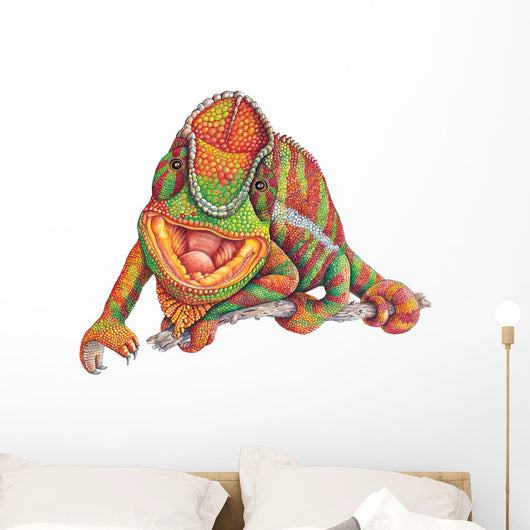Panther Chameleon Wall Decal