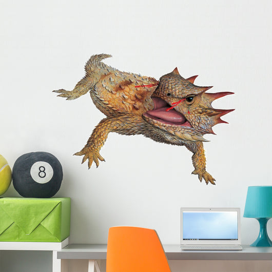 Regal Horned Lizard Wall Decal