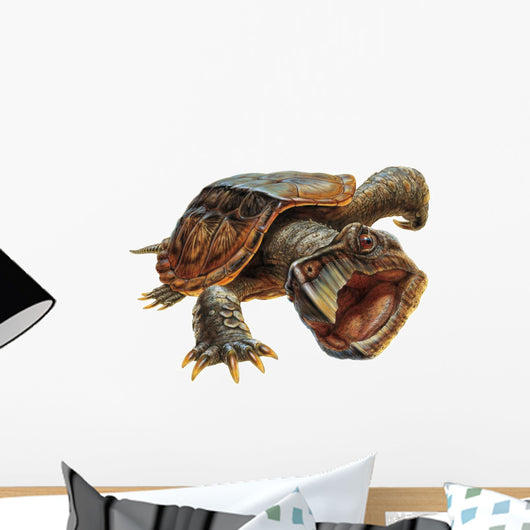 Snapping Turtle Wall Decal