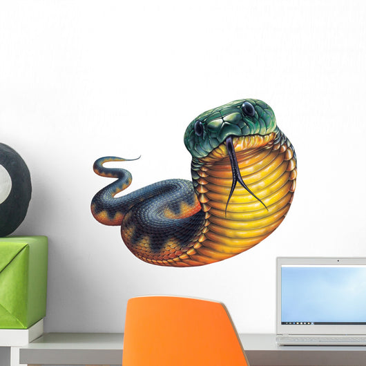 Tiger Snake Wall Decal