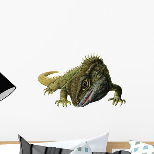 Tuatara Lizard Wall Decal
