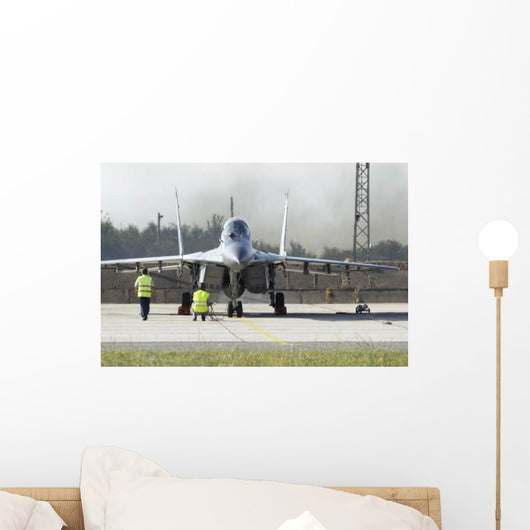 Mig-29 Jet Fighter Bulgarian Wall Decal