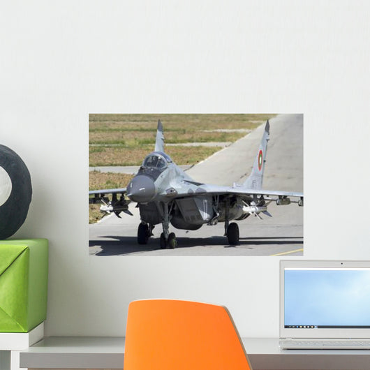 Bulgarian Air Force Mig-29 Wall Decal Design 4