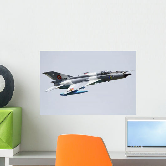 Romanian Air Force Mig-21 Wall Decal