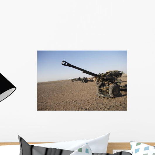 Howitzer 105mm Light Guns Wall Decal