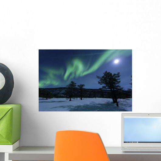 Aurora Borealis Forramarka Troms Wall Decal Design 1