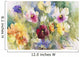 Pansies Posing Wall Mural